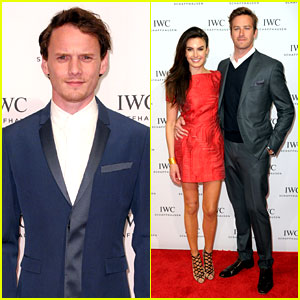 Armie Hammer & Anton Yelchin Are Dapper Dudes at IWC's Tribeca Dinner