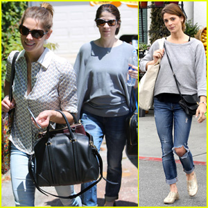 Ashley Greene Spends Weekend with Mother Michele!