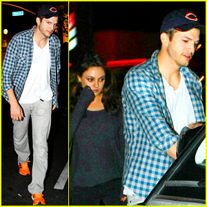 Ashton Kutcher Flies Home to His Pregnant Fiancee Mila Kunis