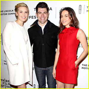 Aubrey Plaza & Maggie Grace Work the Red Carpet for 'About Alex' Tribeca Premiere!