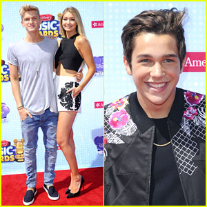 Austin Mahone, Cody Simpson, & Gigi Hadid Hit Up the Radio Disney Music Awards 2014!