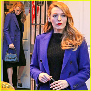 Blake Lively Trades Her Classic 'Age of Adaline' Clothes for a Modern Look!