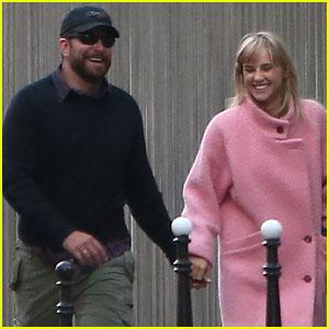 Bradley Cooper & Suki Waterhouse Squash Split Rumors with Romantic Paris Stroll!