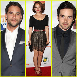 Brant Daugherty & Ian Harding Support a Good Cause at the Road To Hope Charity Benefit!
