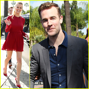 Brooklyn Decker & James Van Der Beek Step Out to Promote 'Friends with Better Lives'!