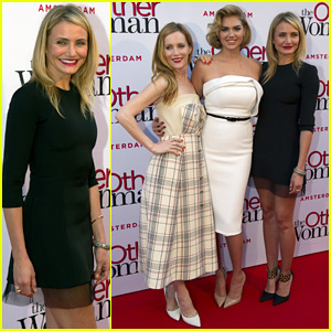 Cameron Diaz Gets Glam with Kate Upton & Leslie Mann For 'The Other Woman' Amsterdam Premiere!