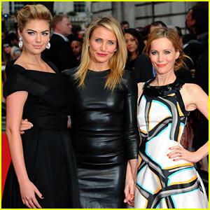 Cameron Diaz, Kate Upton, & Leslie Mann Wow Us at 'Other Woman' UK Premiere!