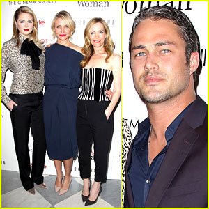 Cameron Diaz, Leslie Mann, & Kate Upton Attend Final 'Other Woman' Screening!