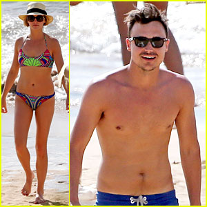 Vampire Diaries' Candice Accola Bares Bikini Body in Hawaii with Fiance Joe King!