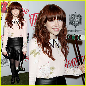 Carly Rae Jepsen Takes a Break From 'Cinderella' To Hit 'Heathers' Opening Night!