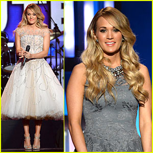 Carrie Underwood Salutes the Troops with 'Keep Us Safe' in Las Vegas!