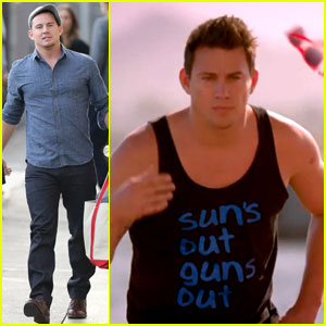 Channing Tatum's Guns Are On Full Display for '22 Jump Street' Final Red Band Trailer!