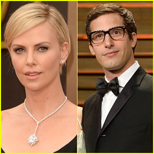 Charlize Theron & Andy Samberg Set to Host 'Saturday Night Live'!