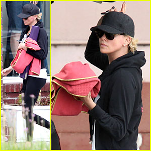 Charlize Theron Shapes Up for 'Saturday Night Live' Hosting Gig!