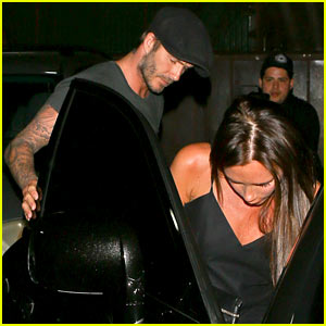 David Beckham Shows He's a Real Gentleman After Dinner Date with Victoria Beckham!