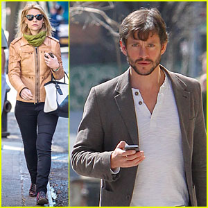 Claire Danes & Hugh Dancy Know How to Dress for Casual Outings!