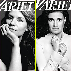 Claire Danes & Idina Menzel Show Their Beautiful Hearts in 'Variety's Power of Women Issue!