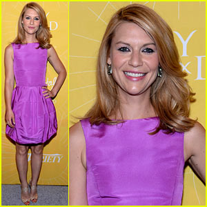 Claire Danes Honored at Variety's Power of Women 2014 for Work with Afghan Hands