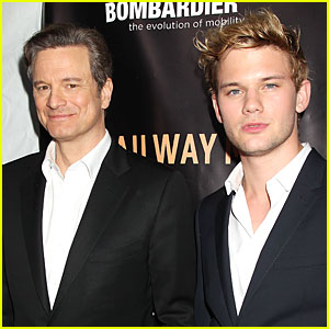 Colin Firth & Jeremy Irvine Bring 'Railway Man' to NYC!