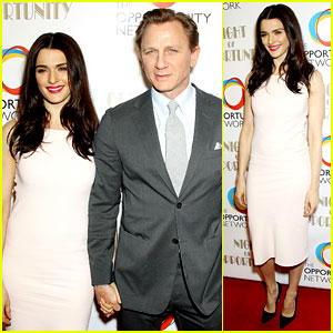 Daniel Craig & Rachel Weisz Make It a 'Night of Opportunity' By Holding Hands!