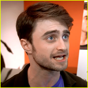 Daniel Radcliffe Takes Us Into His First 'Cripple of Inishmaan' Broadway Preview! (Exclusive Video)