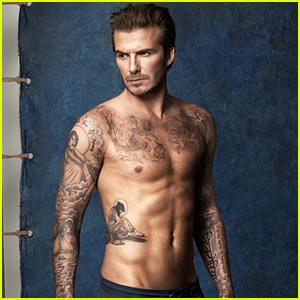 David Beckham's Hot Shirtless Body is on Display for New H&M Bodywear Swimwear Collection!
