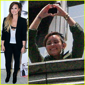Demi Lovato's Brazilian Fans Wake Her in the Morning & Keep Her Up at Night!