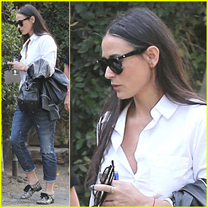 Demi Moore & Fellow Brat Pack Member Rob Lowe Saw Each Other Two Years Ago!