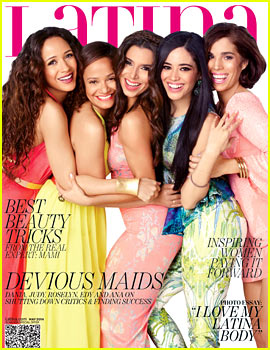 'Devious Maids' Cast Graces Cover of 'Latina' May 2014!