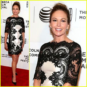 Diane Lane Hasn't Had a Chance to Feel Batman's Costume Yet!