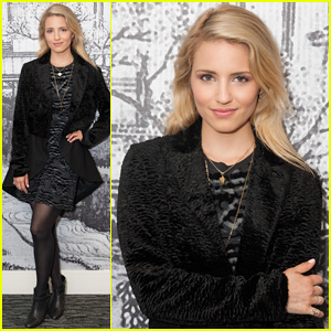 Dianna Agron Steps Out for Secret AlunaGeorge Concert at W Hotel!
