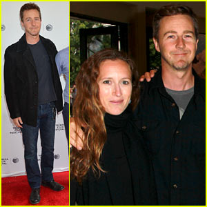 Edward Norton Premieres 'My Own Man' During Last Day of Tribeca Film Festival 2014!