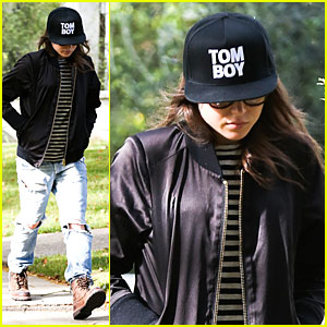 Find Out Why Ellen Page 'Stays Away from Balls' - Watch Now!