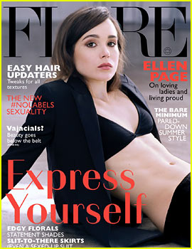 Ellen Page's Amazing Six Pack Abs Are On Display for 'Flare' June 2014