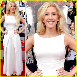 Ellie Goulding Makes Our Hearts Beat on the MTV Movie Awards 2014 Red Carpet