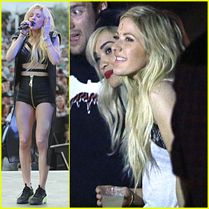 Ellie Goulding & Rita Ora Are the Beautiful British Invasion at Coachella!