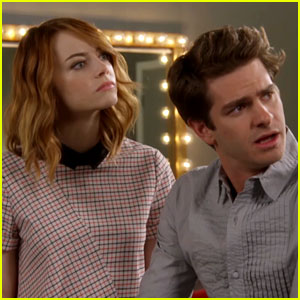 Emma Stone & Andrew Garfield Reveal New 'Spider-Man 2' Clip at MTV Movie Awards 2014