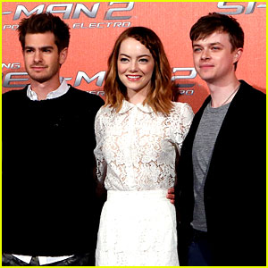 Emma Stone Braids Her Hair for 'Spider-Man 2' Rome Photo Call