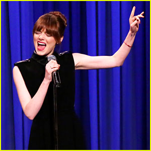 Emma Stone's Lip Sync Battle with Jimmy Fallon is a Must See!