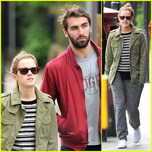 Emma Watson Makes Matthew Janney Feel At Home in London!