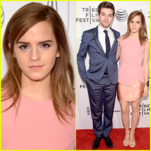 Emma Watson Supports Longtime Friend Roberto Aguire at 'Boulevard' Tribeca Premiere!