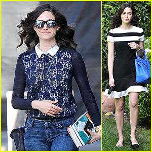 Emmy Rossum is Definitely the Beautiful & Brainy Book Worm!