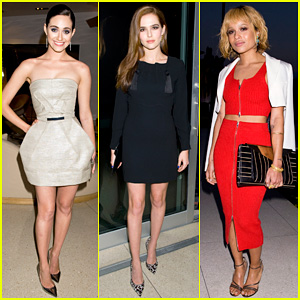Emmy Rossum & Zoey Deutch Celebrate with Jimmy Choo at their CHOO.08 Launch Party!