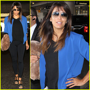 Eva Longoria Returns to L.A. Just in Time for 'Devious Maids'!