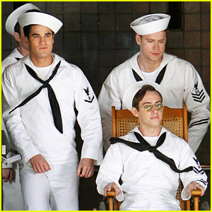 'Glee' Guys Transform Into Super Hot Sailors - Check Out the Pics Right Here!