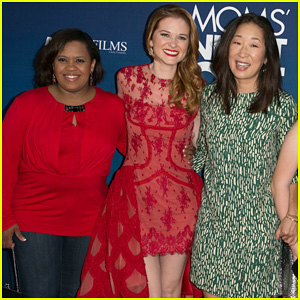 'Greys Anatomy' Cast Supports Sarah Drew at 'Mom's Night Out' Premiere!