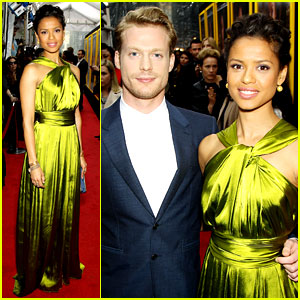 Gugu Mbatha-Raw Is a Green Goddess at 'Belle' Premiere