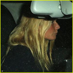 Gwyneth Paltrow Drives Off Post Split with Chris Martin