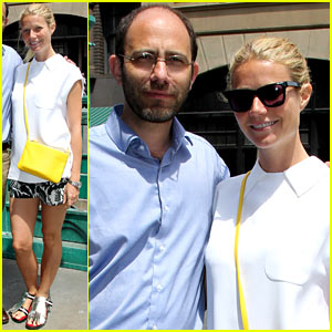 Gwyneth Paltrow Makes it Just in Time for Paris Photo Los Angeles' Final Day!