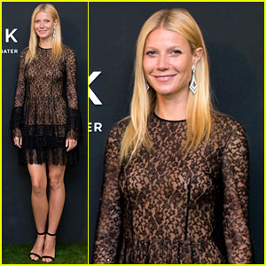 Gwyneth Paltrow Stuns in Sheer Dress in Hong Kong!